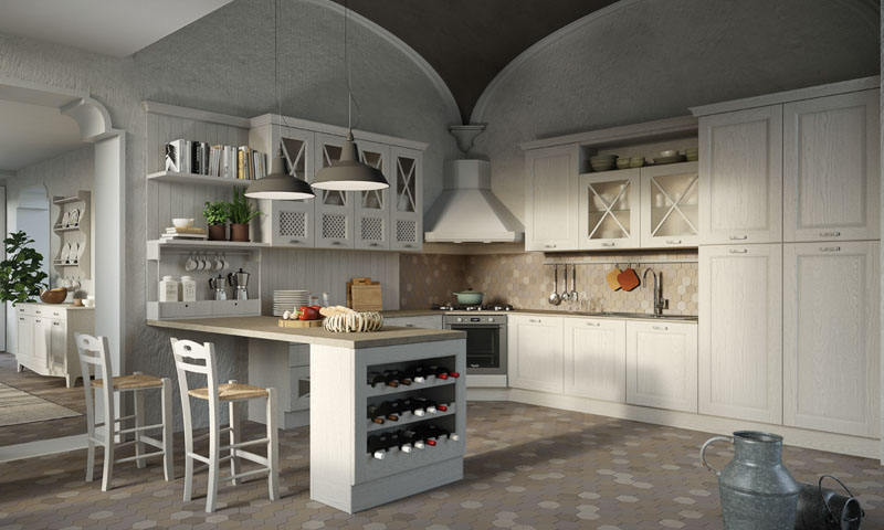 Contemporary Kitchen Cabinets Bellagio European Cabinets