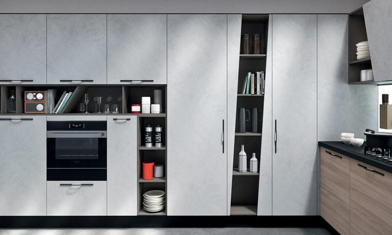 Modern kitchen cabinets mia european cabinets design for High pressure laminate kitchen cabinets