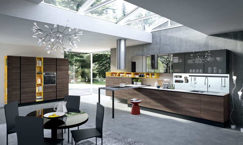 modern kitchen cabinets