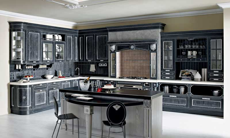 Traditional kitchen cabinets imperial european for Traditional european kitchen