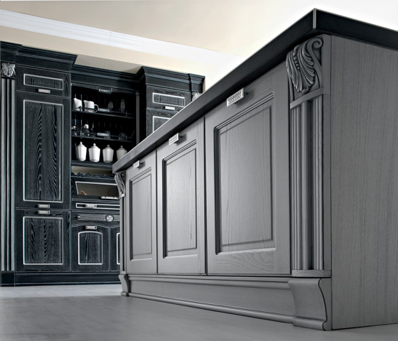 Traditional Kitchen Cabinets Imperial European