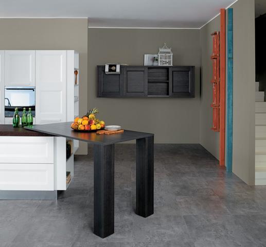 Contemporary Kitchen Cabinets - Aqua | European Cabinets ...