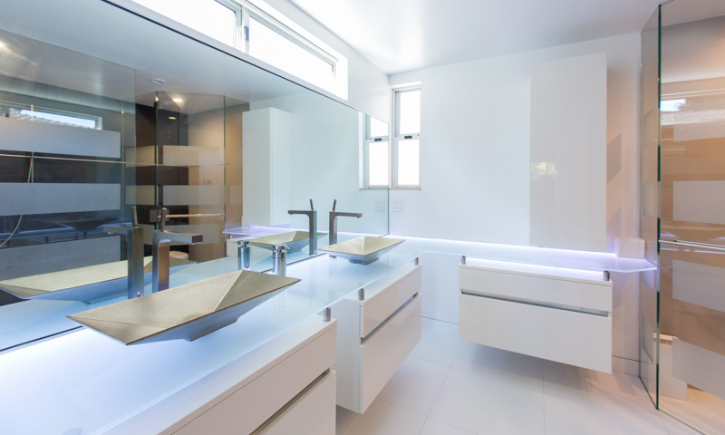 modern bathroom cabinets volare
