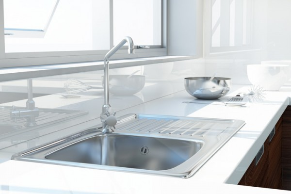 kitchen sink top mount