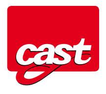 CAST scale logo