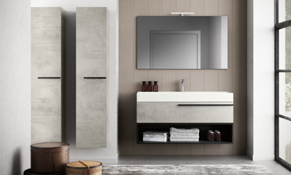 Italian bathroom vanities Bay Area Miami