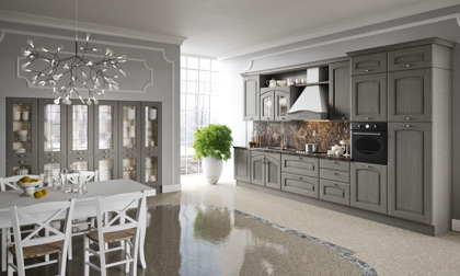 Traditional Italian Kitchen Cabinets