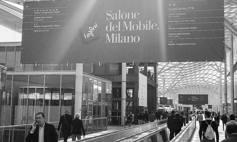 Tour Salone del Mobile with European Cabinets