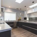 San Mateo Modern Gray Kitchen
