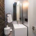 Modern White Kitchen, Bathrooms & In-Law Unit