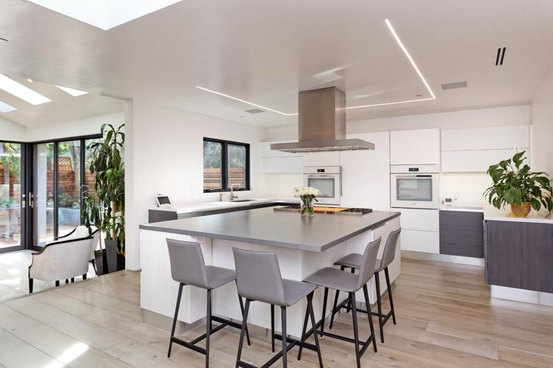 better kitchen lighting design LED strips