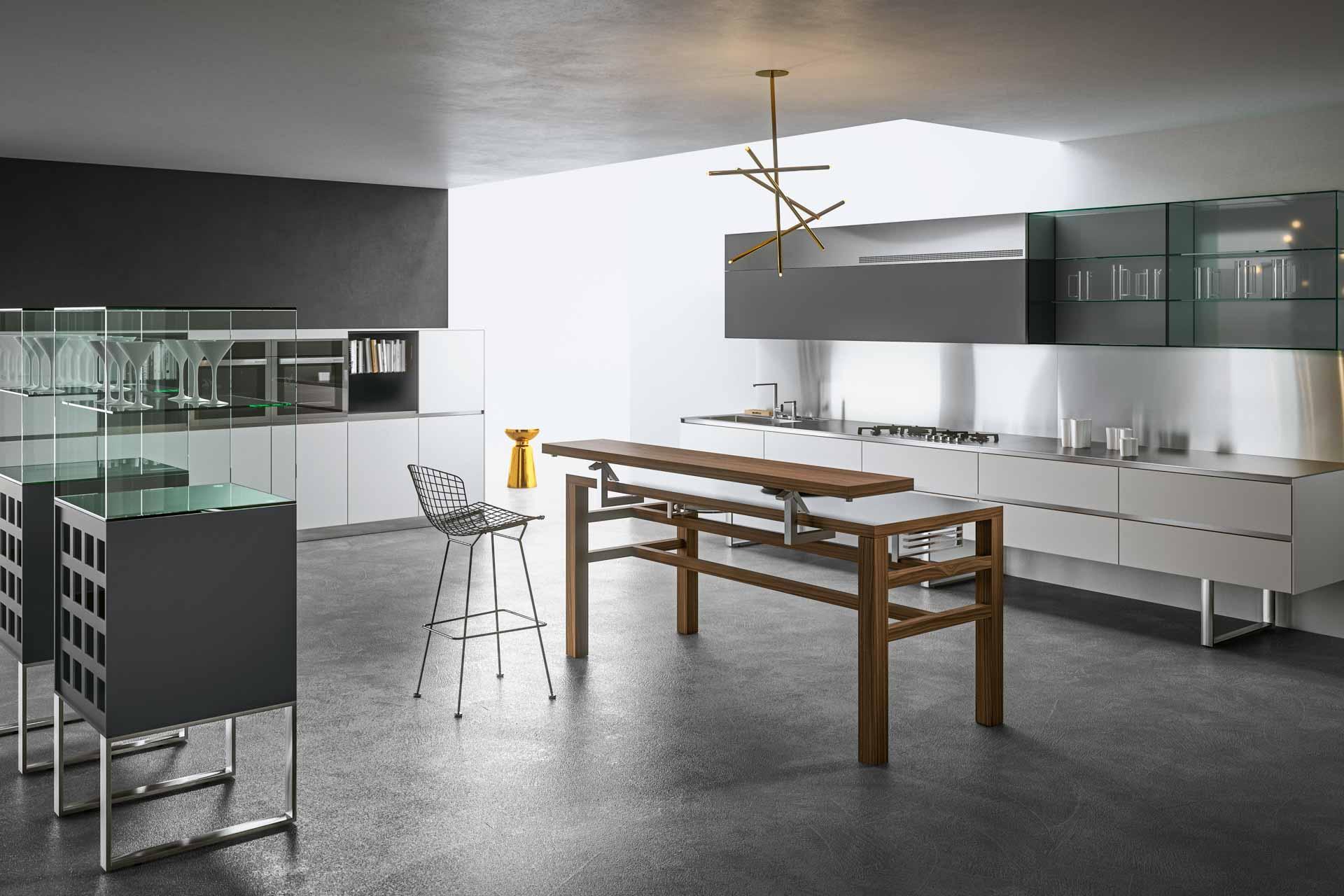 Japanese Style Kitchen Sipario European Cabinets
