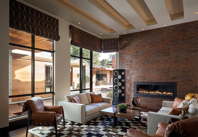8 Gorgeous Living Room Feature Wall Ideas | European Cabinets