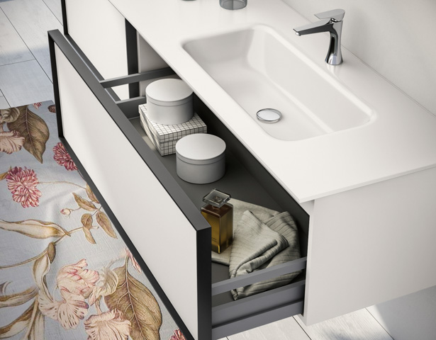 Floating Bathroom Vanities Class European Cabinets