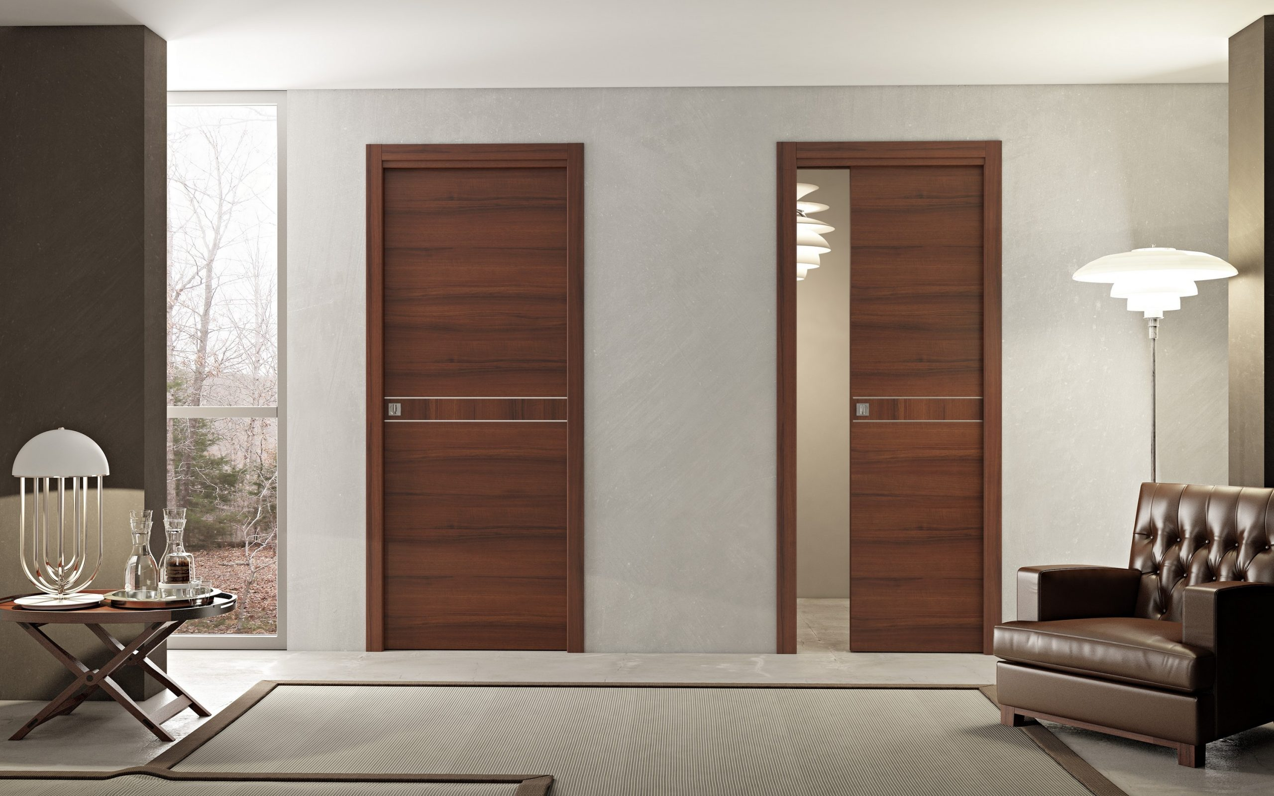 Interior Doors By Pail European Cabinets Design Studios